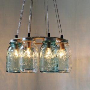 Glass Jar Kitchen Lights | http://downloadfreescreensavers.info ...