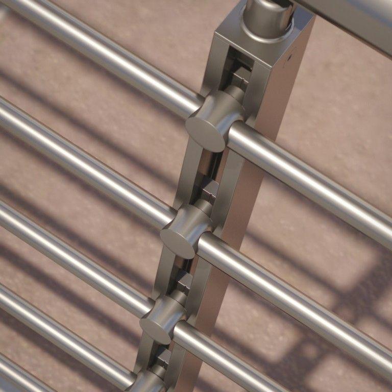 Best Barandilla Redonda Aluminio Inox In 2019 Steel Stairs 400 x 300
