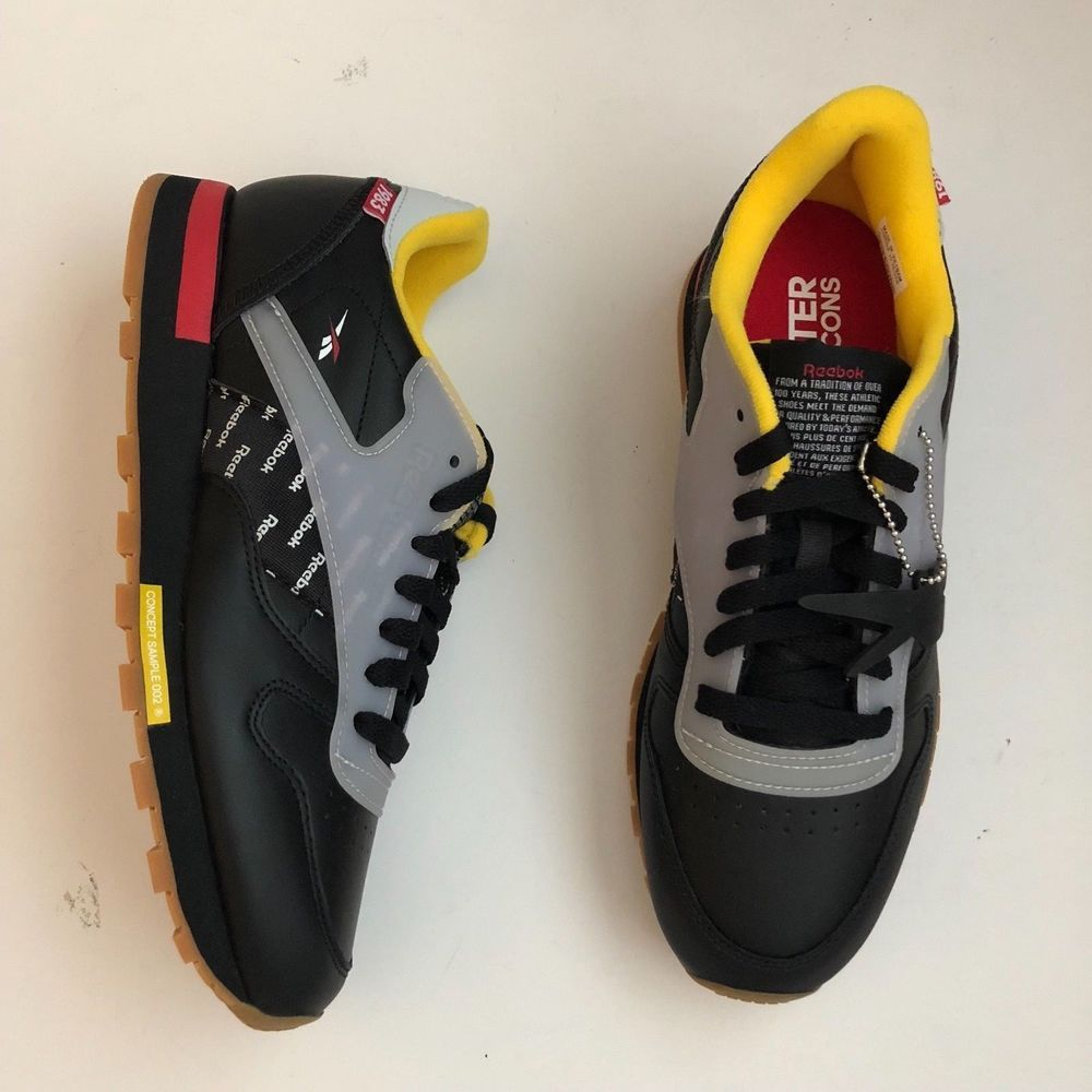 7c614cf5965dad Reebok Classic Workout Plus Altered The Icons Black Mens Size 8  fashion   clothing  shoes  accessories  mensshoes  athleticshoes