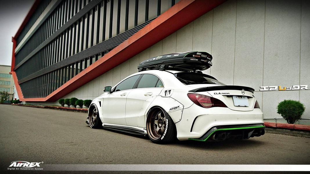 mercedes cla fairy design widebody auto crazed. Black Bedroom Furniture Sets. Home Design Ideas