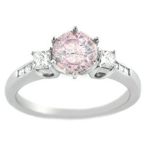 Pink Diamond Engagement Rings Pink Diamond Ring for Special Moment