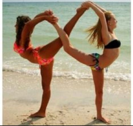 infinity fun trick to do with a flexible friend