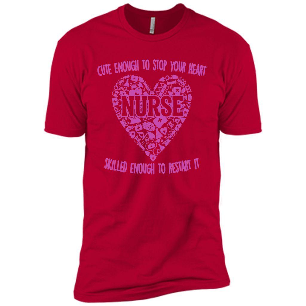 Nurse Skilled Enough To Restart It Nurse T-Shirt