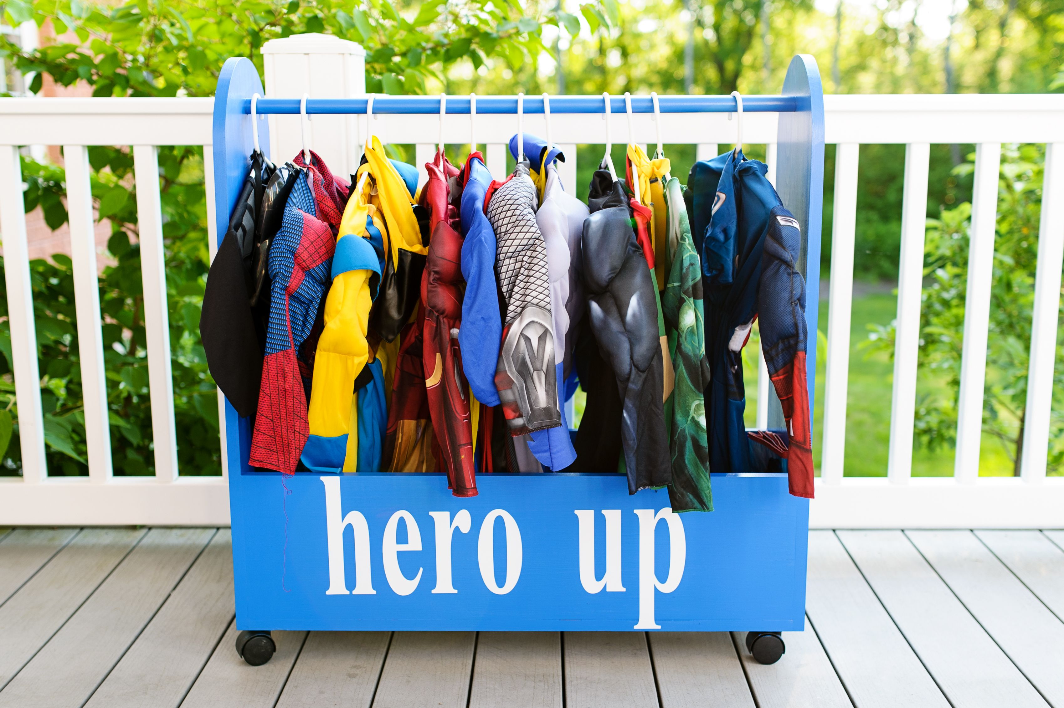 Hero Up Station For Our Superhero Lover Kid Stuff In