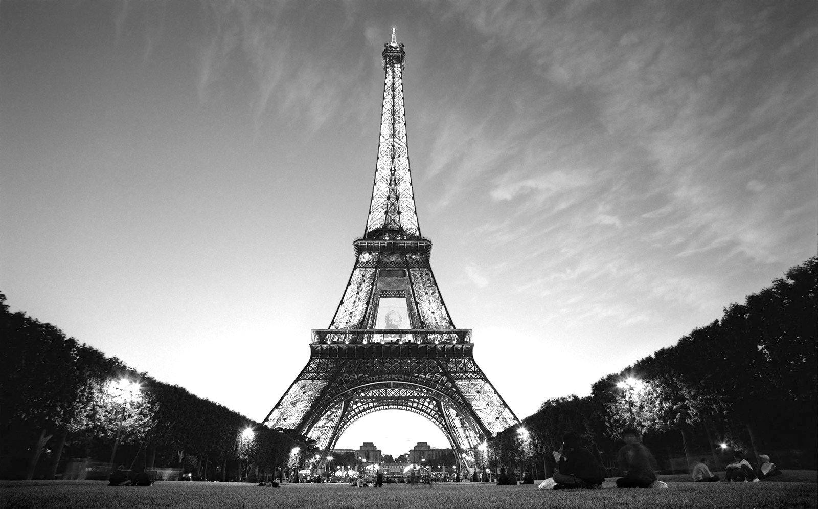 Free Black And White Paris Wallpaper High Quality