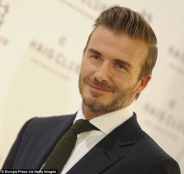 Image Collection #3: Old Age 40s-50s This image of David Beckham ...