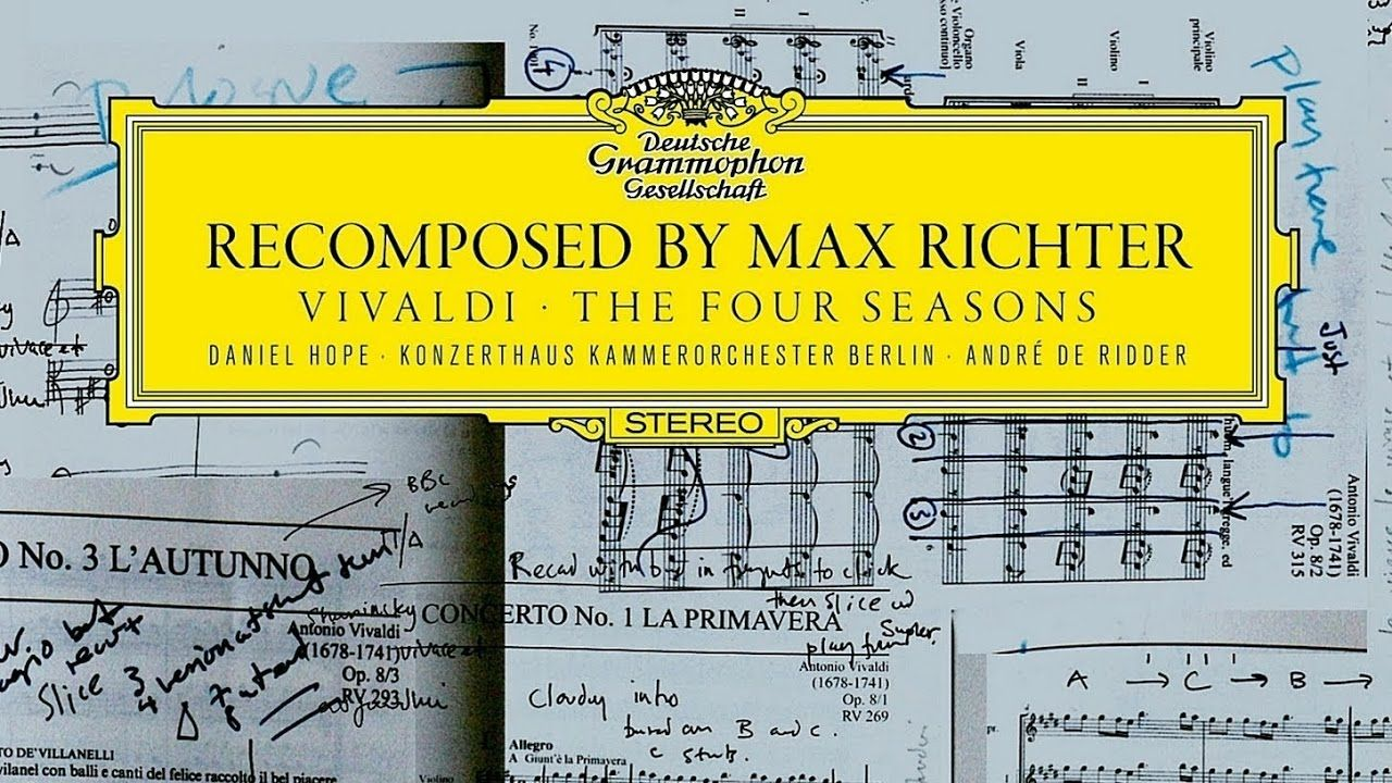 Vivaldi The Four Seasons Recomposed By Max Richter Complete Max Richter Vivaldi Spring Top 50 Albums