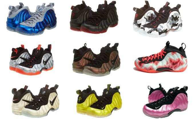 buy online 866cb 5e120 Nike Air Foamposite One PRM - Various Models Available - White, Blue,  Pinkyellow,