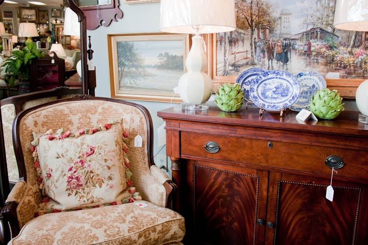 Now again consignment of antiques finer furnishings