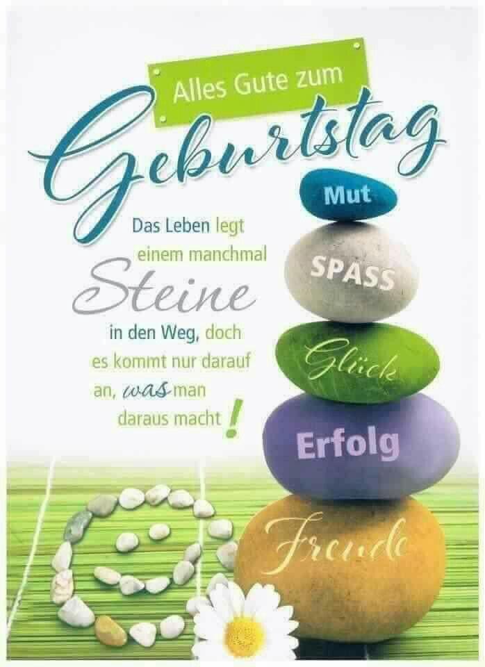 Grusskarte Gluckwunschkarte Geburtstag Ganz Liebe Grusse Gunstig