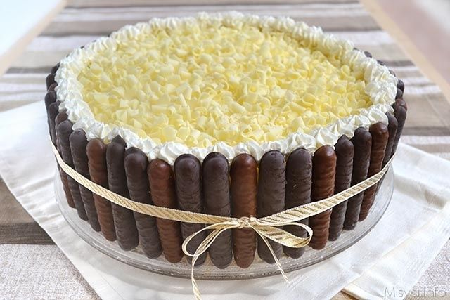 Ricetta torta ai tre cioccolati misya