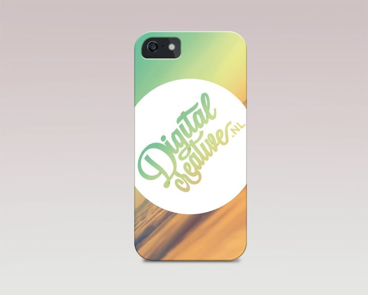 iphone 5 cover template psd