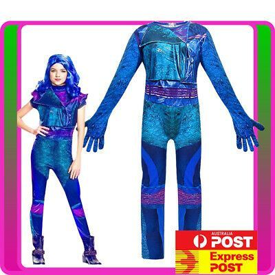 Descendants 3 Audrey Mal Costume Jumpsuit Halloween Book Week Cosplay Outfit Descendants 3 Audrey Mal Costume Jumpsuit Halloween Book Week Cosplay Outfit