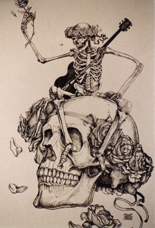 g4xg9qtc1.jpg Grateful dead poster, Grateful dead tattoo
