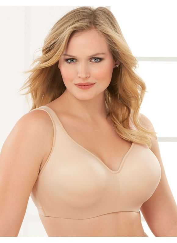 Catherines Plus Size Serenada No-Wire T-Shirt Bra - Women s Size 46D ... 9aef9ab18