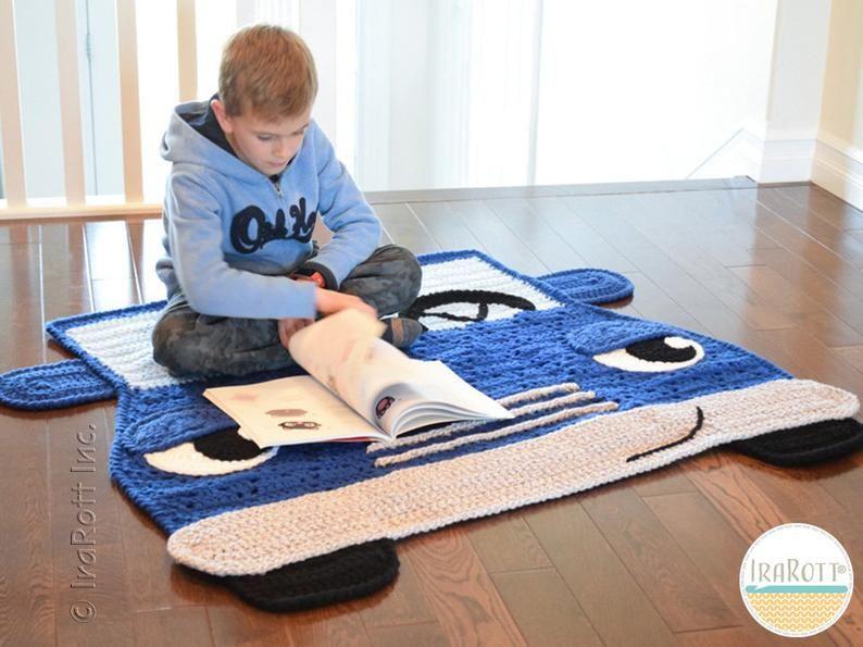 Crochet Pattern Jimmy The Hybrid Car Rug Pdf Crochet Pattern Etsy In 2020 Crochet Patterns Hybrid Car Crochet Car