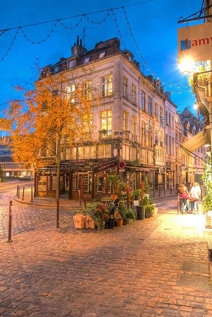 Lille France - so romantic.. We were here one Valentine's day!