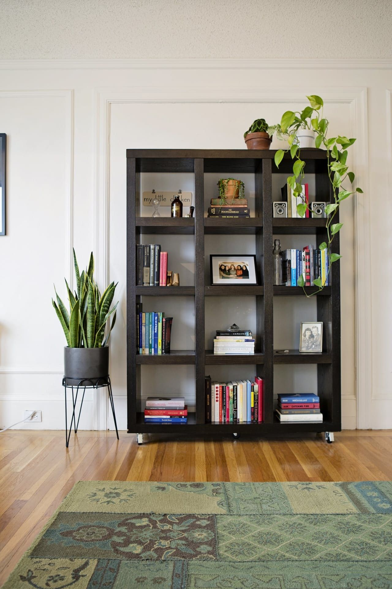 Put Picture Frames On Shelves Alternate How Books Are Displayed
