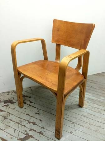 Merveilleux Thonet Bent Plywood Chair