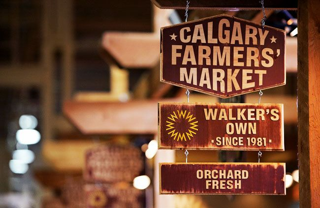 Calgary Farmers Market - love coming here for lunch and grocery shopping.