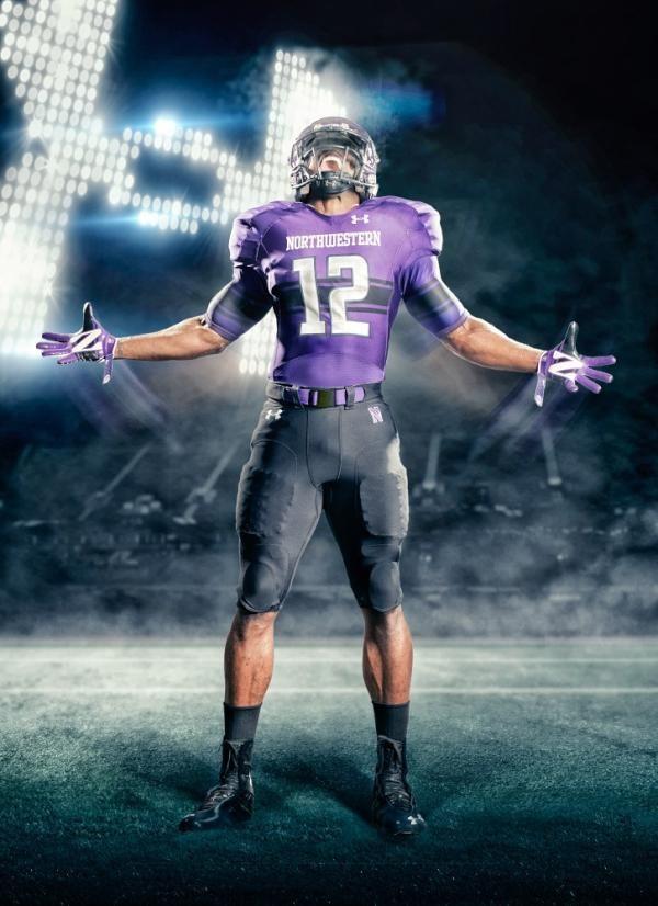 New College Football Uniforms Northwestern College Football