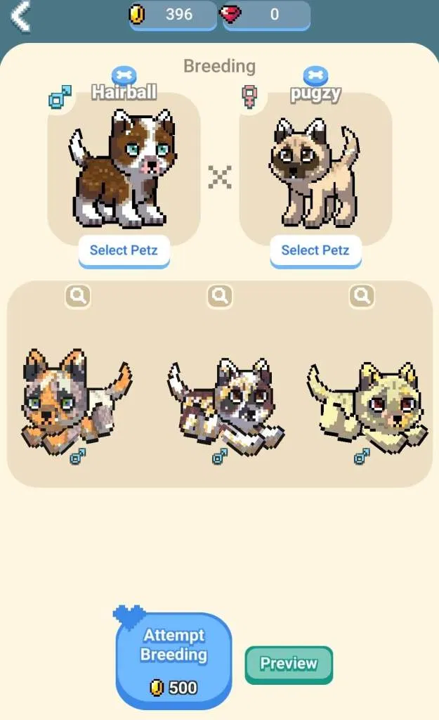 Pixel Petz How To Grow Breed And Sell Pets In 2020 Pets Breeds Pixel