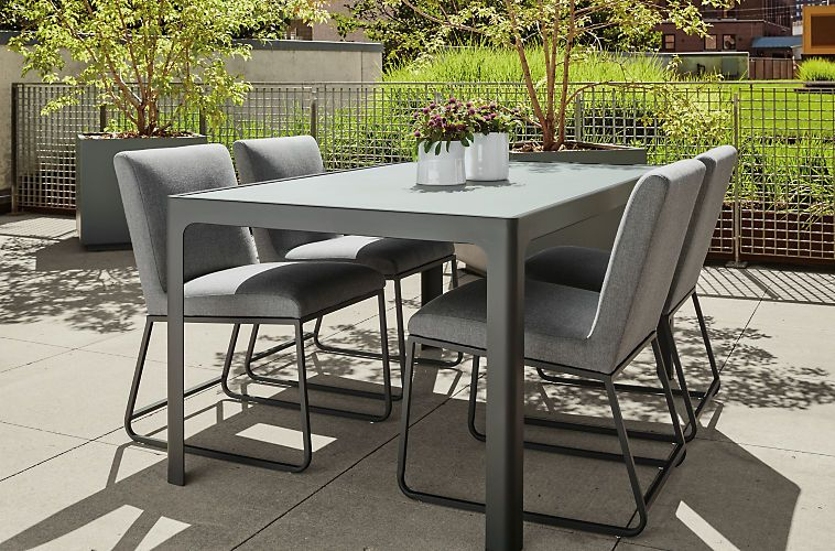 Carmel Outdoor Chair Modern Outdoor Dining Chairs Benches