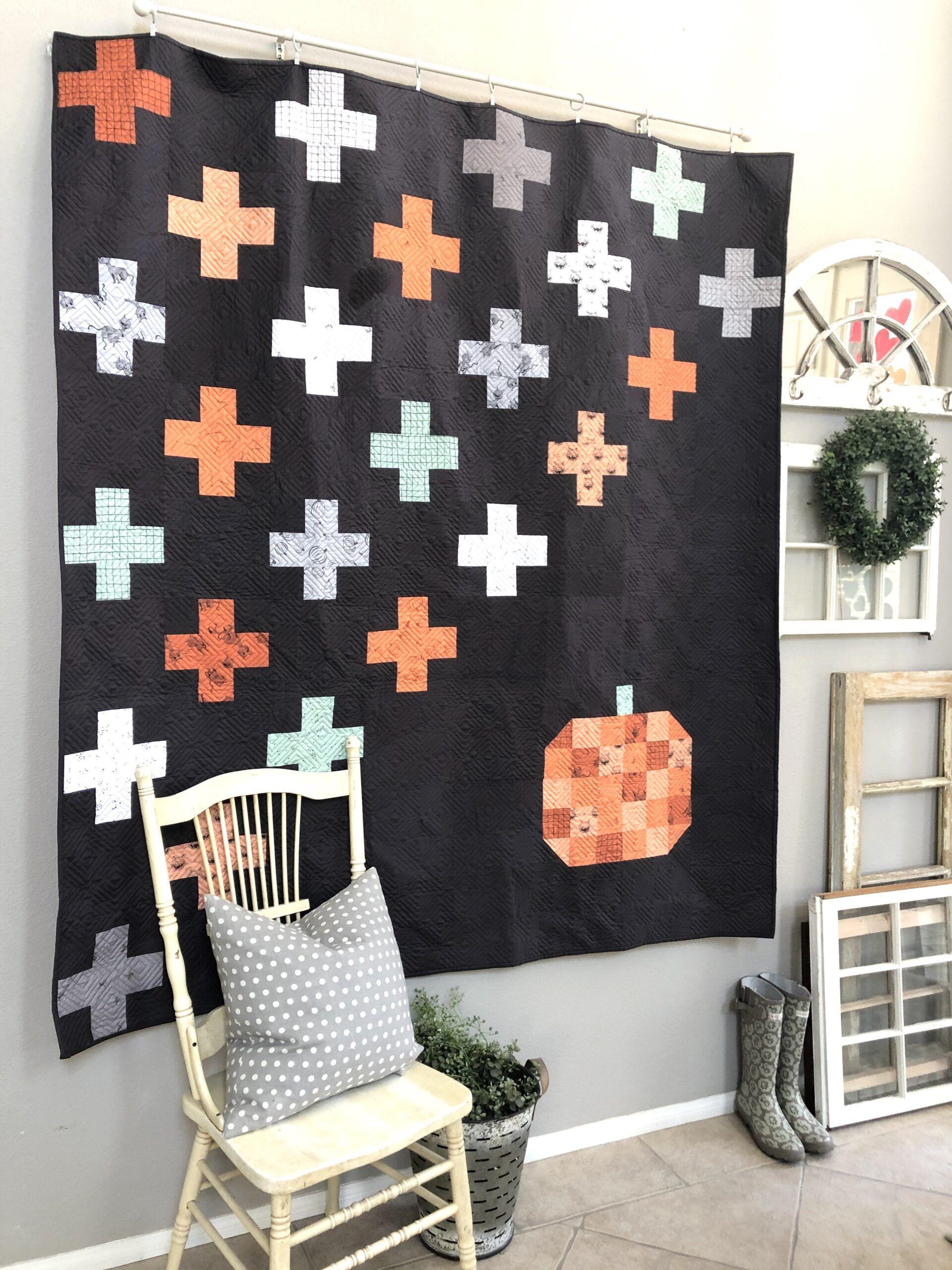 Swiss Halloween 2020 Swiss Fall Bliss Quilt in 2020 | Quilts, Digital quilt pattern