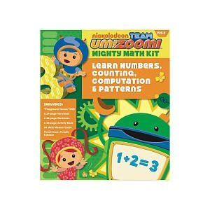 Team Umizoomi Numbers Counting Patterns Pre K Math Kit