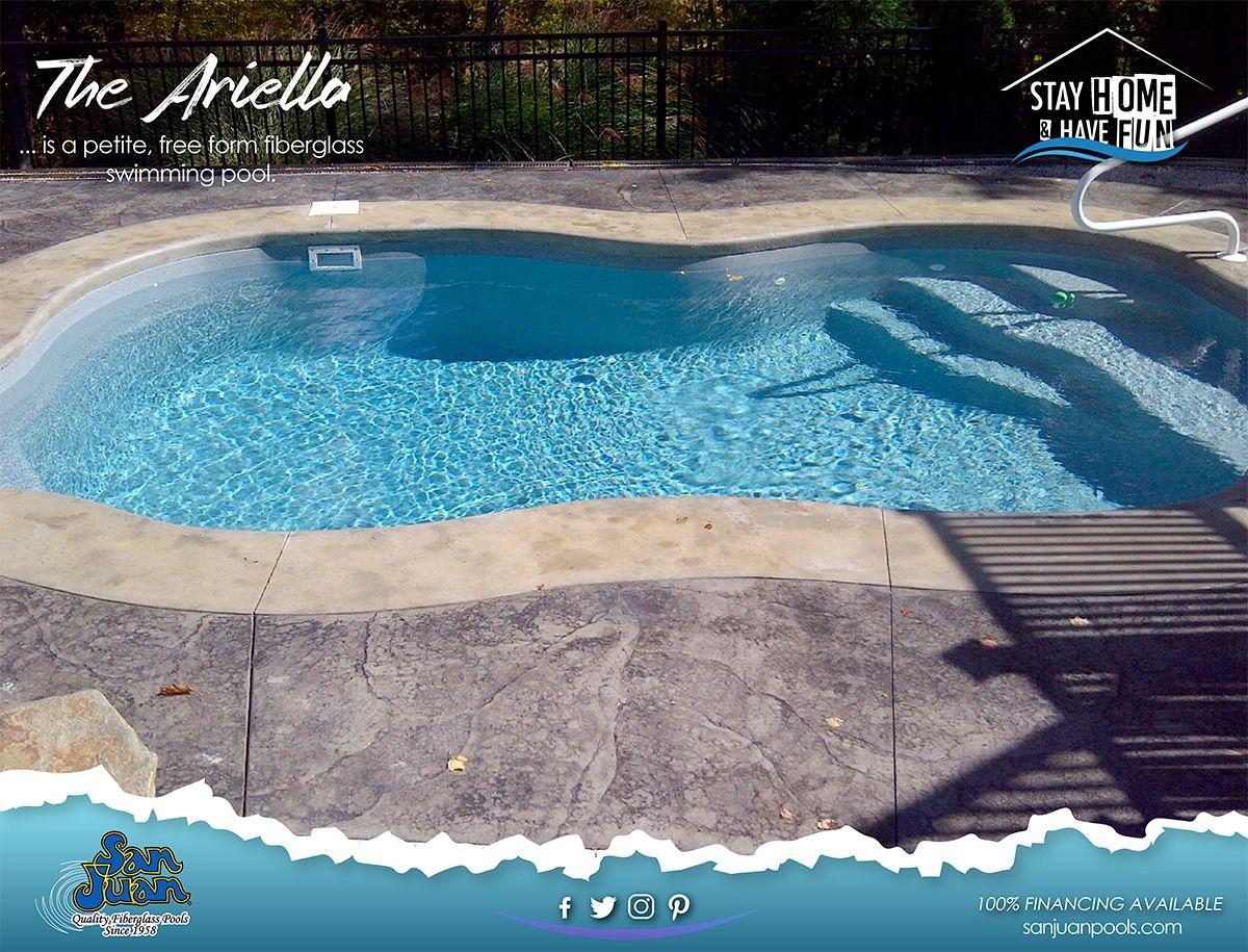 The Ariella San Juan Pools Fiberglass Pools San Juan Pools Fiberglass Swimming Pools