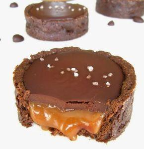 Des Tartelettes Au Chocolat Et Caramel Au Beurre Salé C ...
