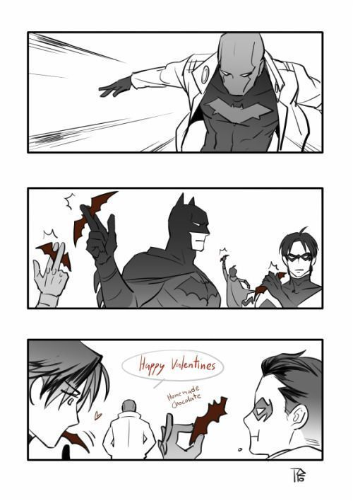 Batfamily Imagines And One Shots Valentines Special Part 2 Jason Bat Family Batman Family Batman Funny