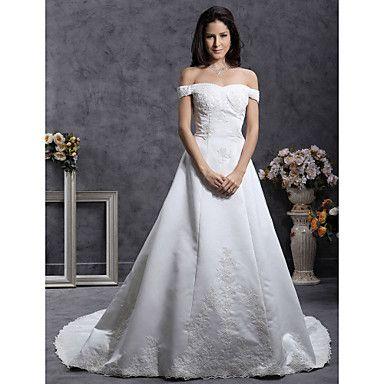 ANJALI - kjole til Bryllupskjole i Satin – NOK kr. 1.654