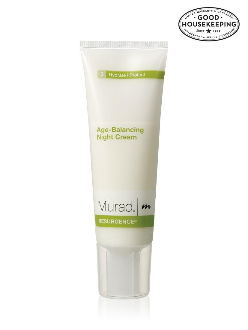 Murad Resurgence Age Balancing Night Cream Good Housekeeping Seal Of Approval Good Housekeeping Magazine 2012 Celebratemurad Night Creams Murad Cream