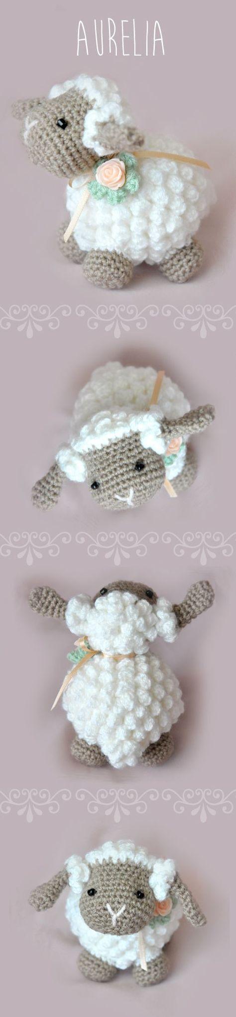 Amigurumi Lamb - FREE Crochet Pattern / Tutorial   Patron ...