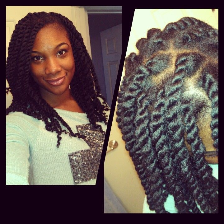Protective Styling With Havana Twists Swimming Hairstyles Havana Twist Natural Hair Styles
