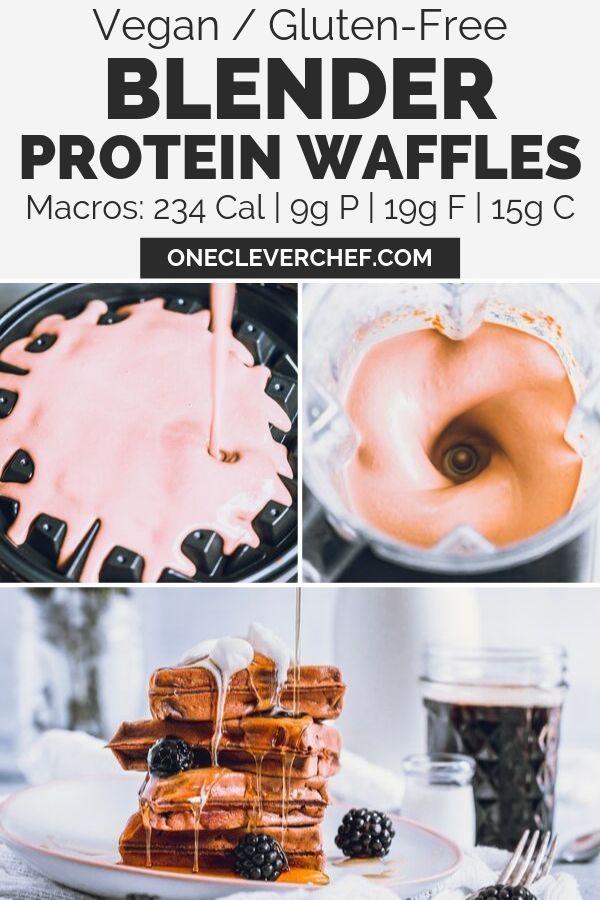 Gluten-Free Vegan Protein Waffles