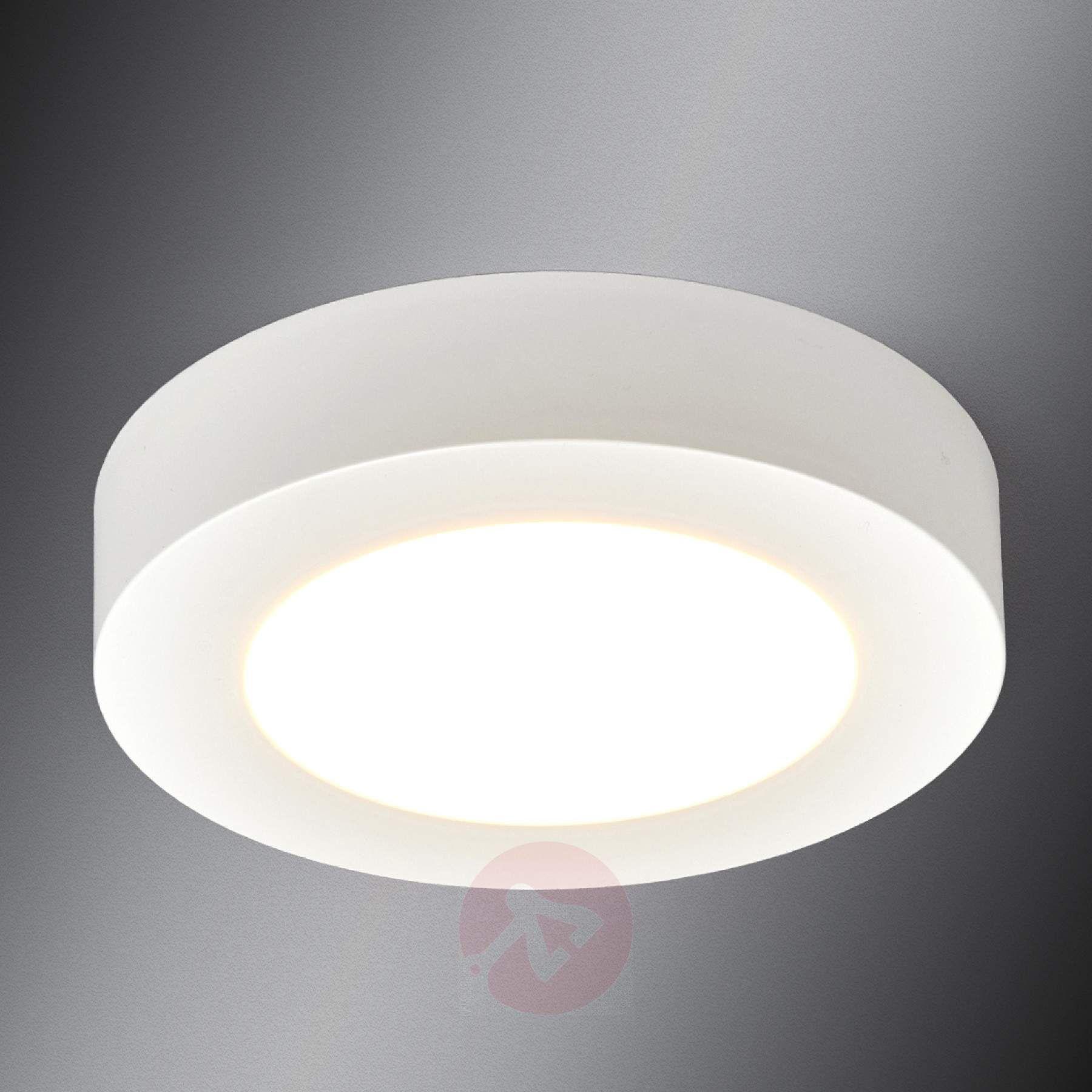 Round Led Ceiling Lamp Esra For Bathrooms Lights Co Uk Led