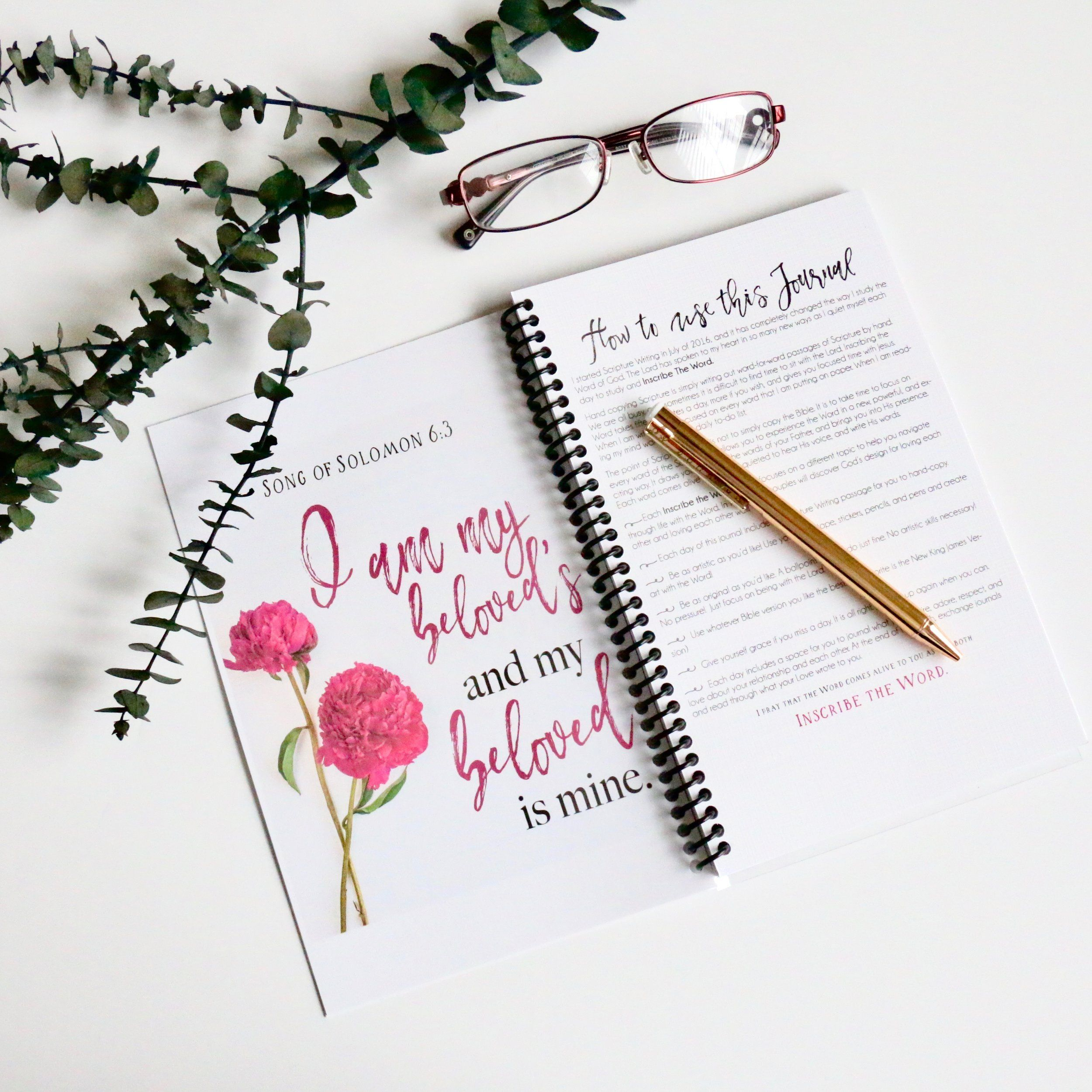 the inscribe the word journal for couples is a scripture writing and prayer journal that you