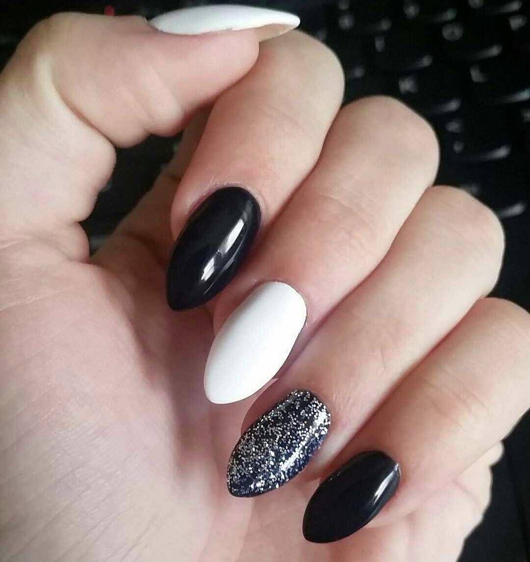 Beautiful Medium Almond Nails Composition - Nail Art Ideas ...