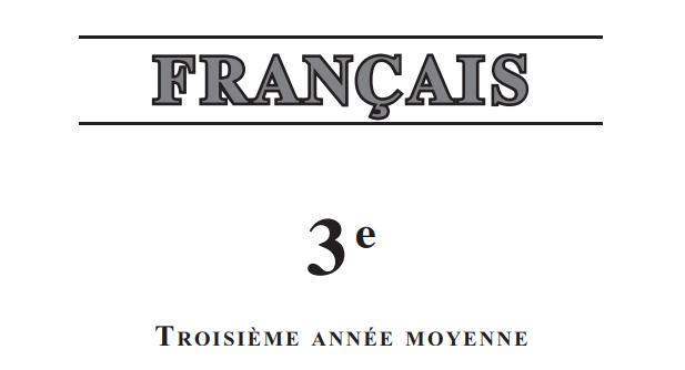 حلول تمارين الفرنسية للسنة الثالثة متوسط الجيل الثاني Http Www Seyf Educ Com 2019 04 Solition Livre Francais 3am Html Exam Exercise