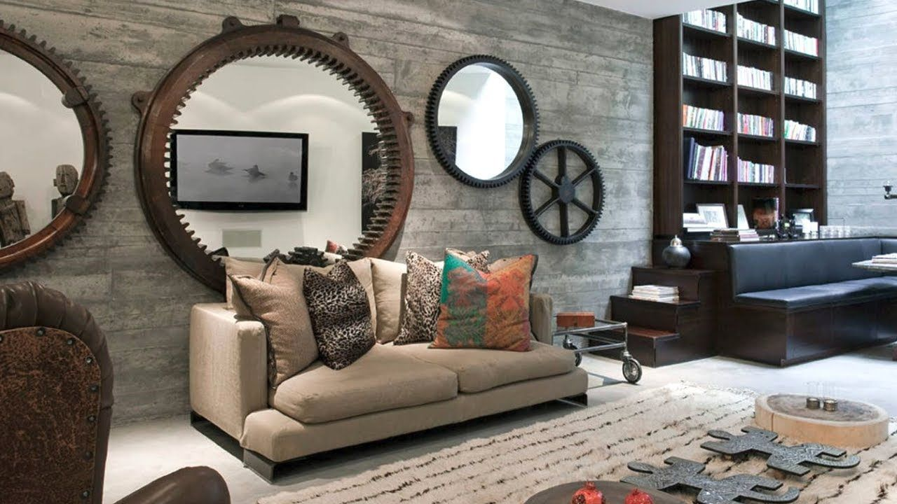 31 Industrial Decorating Ideas Youtube Industrial D