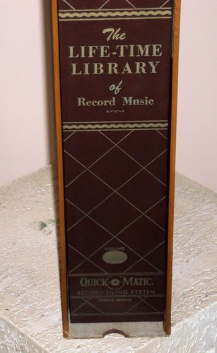 Quick O Matic Life Time Library Of Record Music