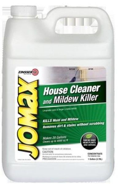 Jomax House Cleaner And Mildew Killeralways Look For A Local Independent Design Center For The Best Advice On Your Part Clean House Mildew Remover Mold Remover