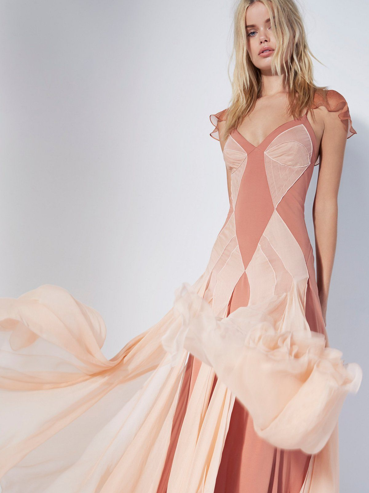 FP Limited Edition Terra Cotta Jill C's Limited Edition Maxi Dress at Free People Clothing Boutique