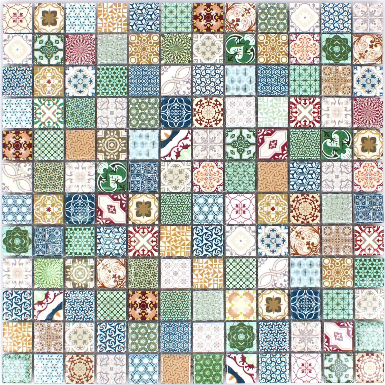 Details zu Keramik Mosaikfliesen Dia Bunt Wandfliesen Dekor ...