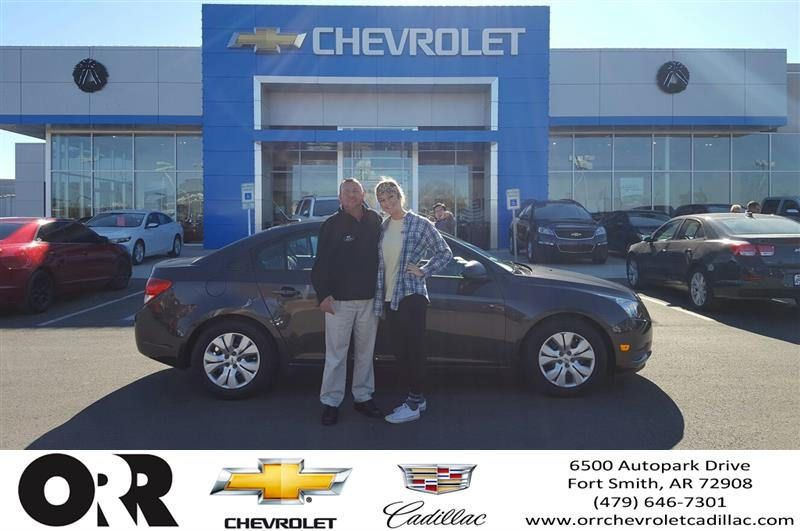 Congratulations Macie On Your From Ruben Lã³Pez At Orr Chevrolet Cadillac  Of Fort Smith!