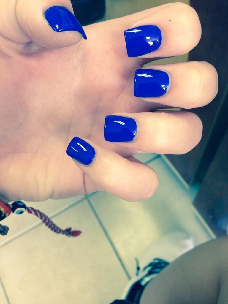 dark blue nails | Hair and Nails | Pinterest | Dark blue nails, Blue ...