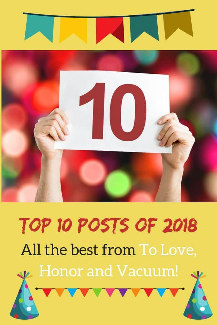Best posts of 2018 from this Christian marriage blog! #marriageblog #marriageblogger #greatmarriage #topposts #ToLoveHonorandVacuum via @sheilagregoire