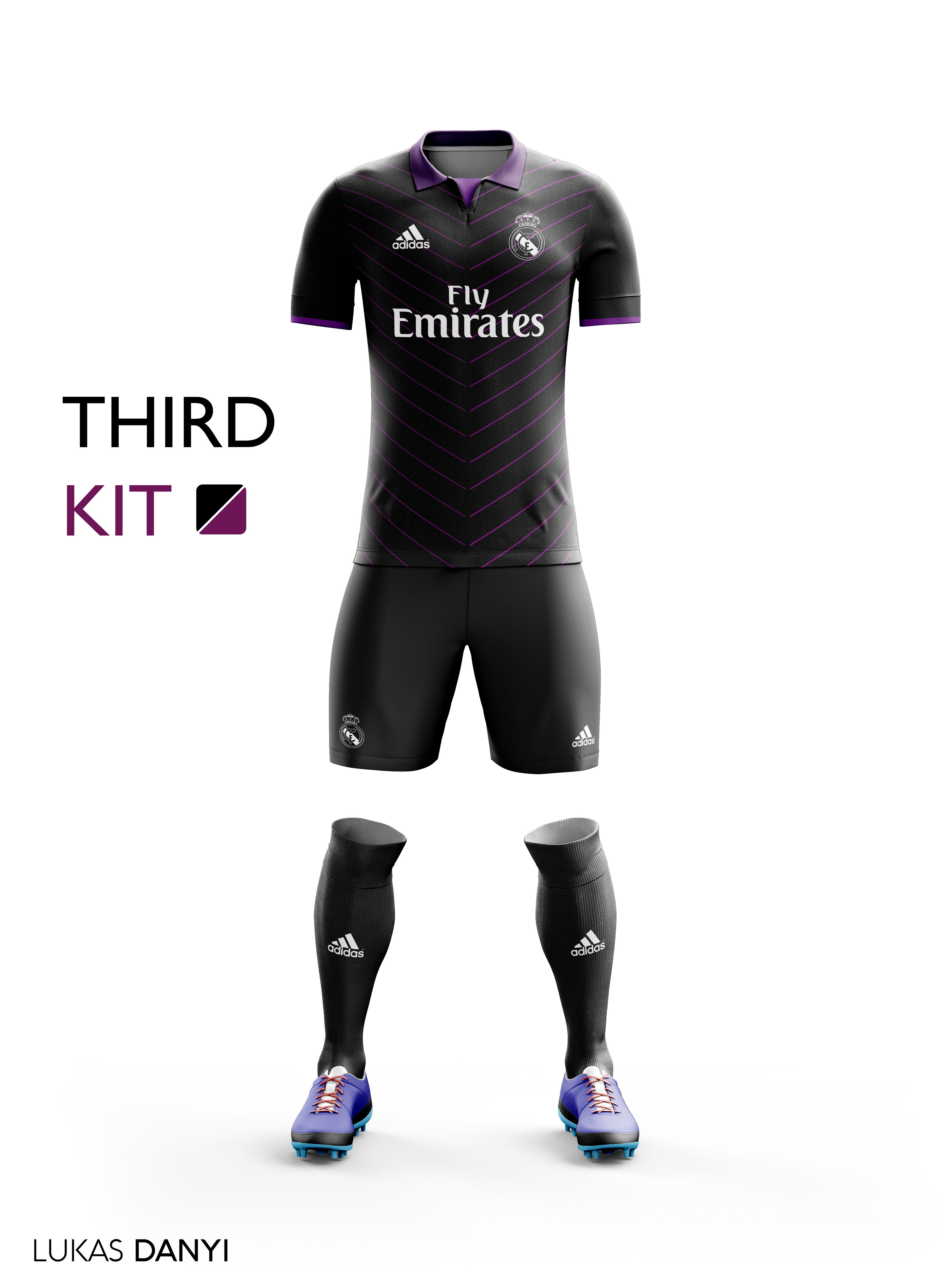 newest 6a2cd 6720c I designed football kits for Real Madrid CF for the upcoming ...